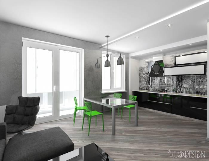 Дизайн в серых тонах спальня